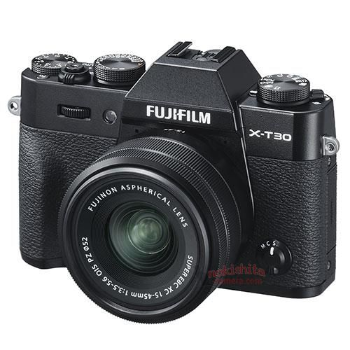 Fujifilm X-T30 camera pictures leaked