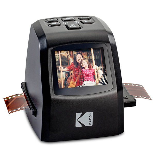 The new lineup of Kodak digital film scanners is now shipping