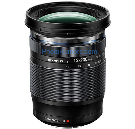 New Olympus M.Zuiko Digital ED 12-200mm f/3.5-6.3 MFT lens to be announced next week