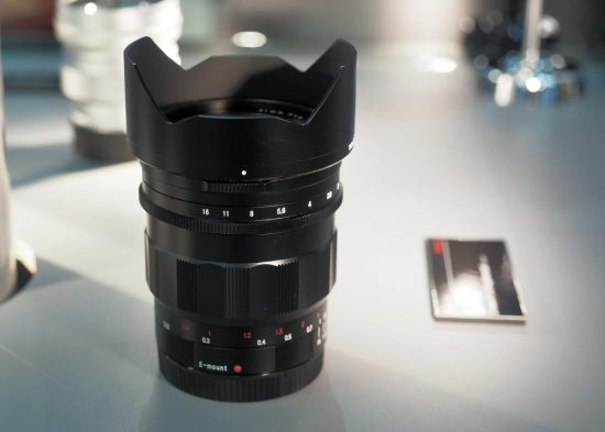 Voigtländer Nokton 21mm f/1.4 Aspherical lens for E-mount