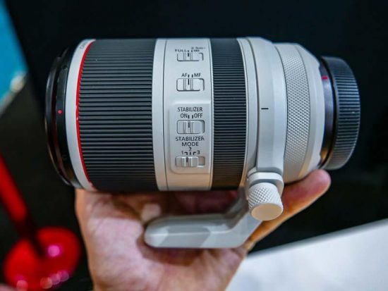 Canon at The Photography Show 2019 (with pictures of upcoming Canon RF lenses)