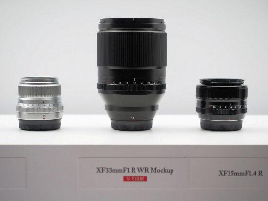 Fuji Fujinon XF 33mm f/1 R WR lens