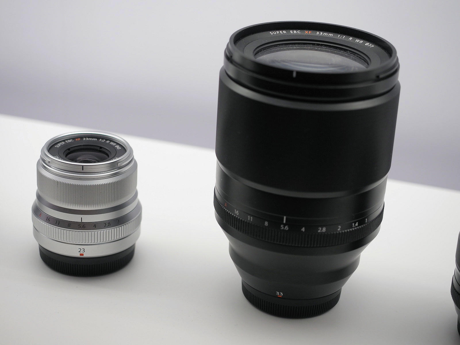 2019 CP+ show report: the Fuji Fujinon XF 33mm f/1 R WR lens
