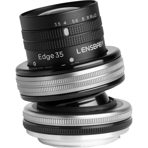 Lensbaby launches a new Composer Pro II with Edge 35 Optic wide angle tilt lens