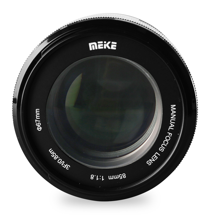 New Meike 85mm F 1 8 Full Frame Manual Focus Lens For Sony