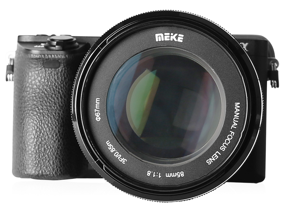 New Meike 85mm F 1 8 Full Frame Manual Focus Lens For Sony