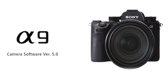 QnA VBage Firmware update 5.0 for Sony α9 released