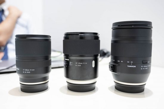 Tamron is still researching the possibility of developing mirrorless lenses for Nikon Z and Canon R mounts