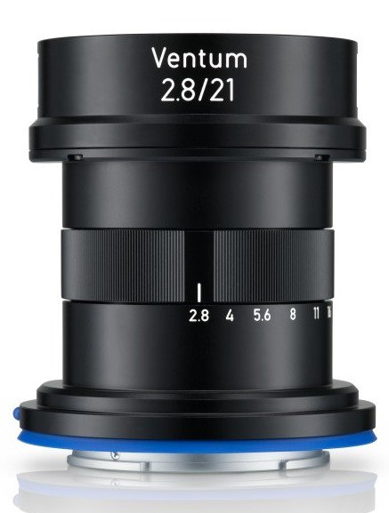 Additional information on the upcoming Zeiss Ventum 21mm f/2.8 drone lens