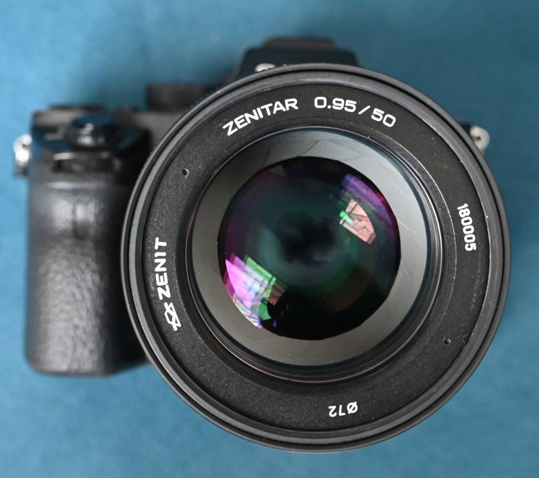 f52e234a2a5c Officially announced  Zenitar 50mm f 0.95 manual focus full-frame ...
