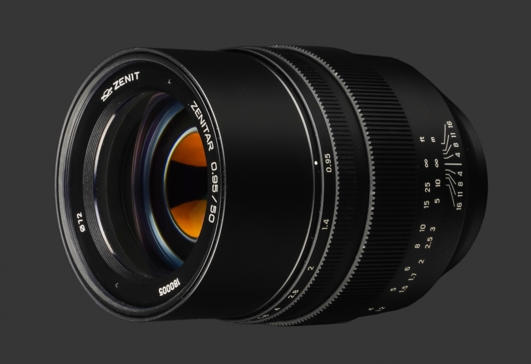 e1577a0733d0 The previously rumored Zenitar 50mm f 0.95 manual focus full-frame lens for  Sony E-mount from Zenit is now officially announced.