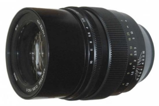 The new Zenitar 50mm f/0.95 manual focus full-frame lens from Zenit is rumored to be announced on March 15th