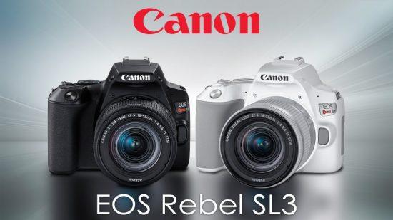 Canon EOS Rebel SL3 DSLR camera officially announced