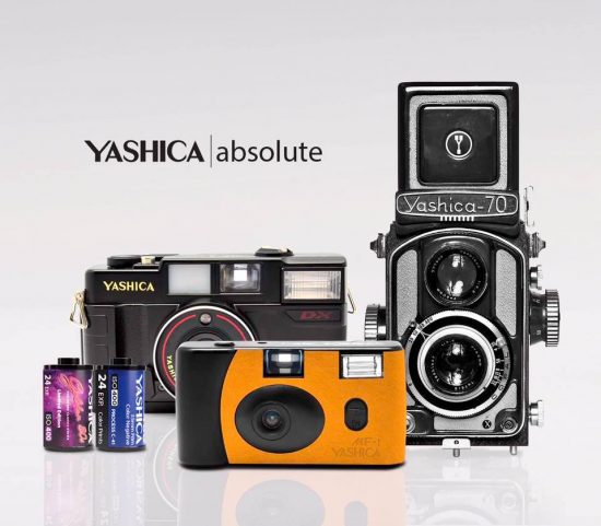 """Project """"Absolute"""": more Yashica 35mm photographic negative film teasers"""