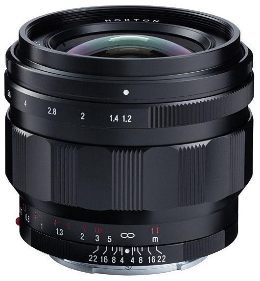 Voigtlander Nokton 50mm f/1.2 Aspherical lens for Sony E-mount will start shipping on April 19th