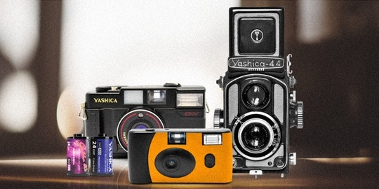 The Yashica camera and film Kickstarter project is already funded…