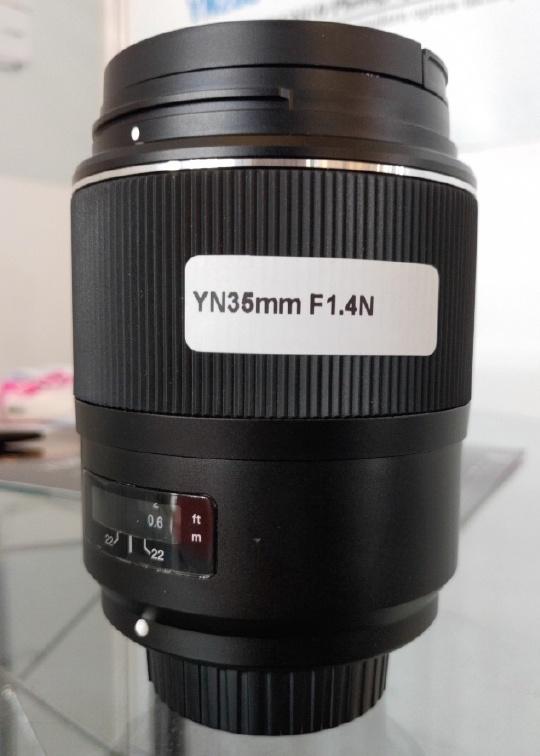 New lenses: 7artisans 75mm f/1.25, Yongnuo YN 35mm f/1.4N and Nikkor 200mm f/2E FL ED VR