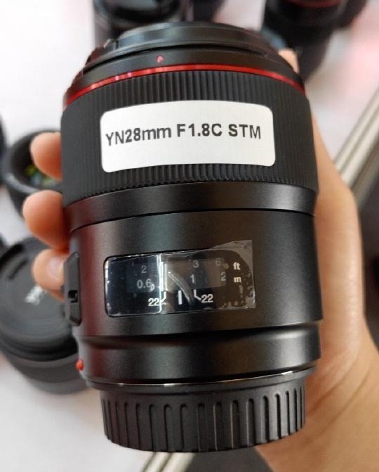 New lens: Yongnuo YN28mm f/1.8C STM