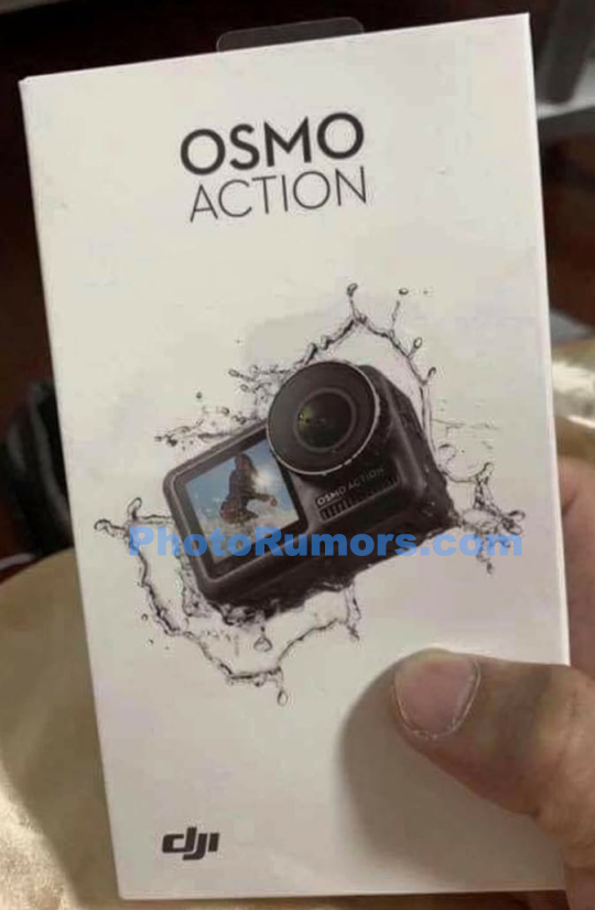 Another leaked picture of DJI Osmo action camera