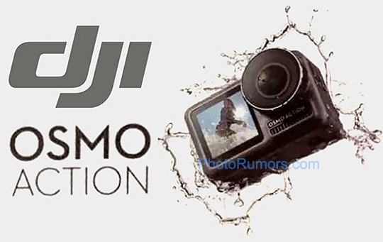 More DJI Osmo action camera leaks