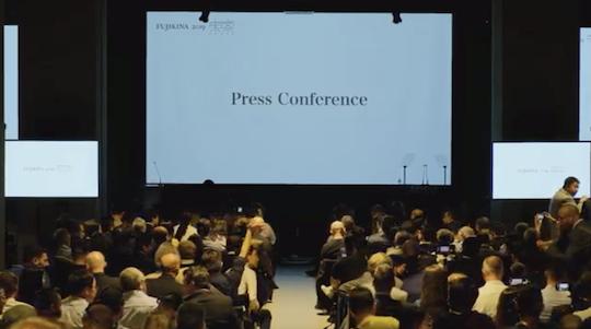 Livestream from Fujikina 2019 (Fujifilm GFX100)