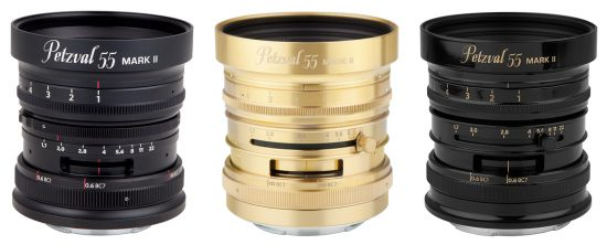 Lomography announced a new Petzval 55mm f/1.7 Art lens for mirrorless cameras