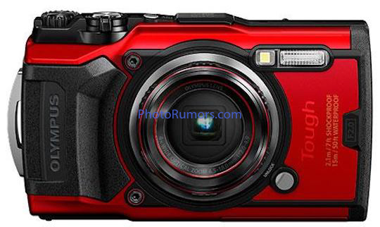 First leaked pictures and detailed specifications of the upcoming Olympus TG-6 waterproof, dustproof, freezeproof, shockproof camera