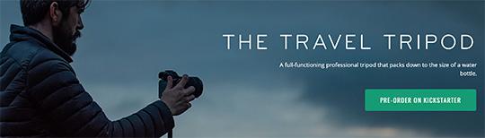 The 8 million dollar travel tripod