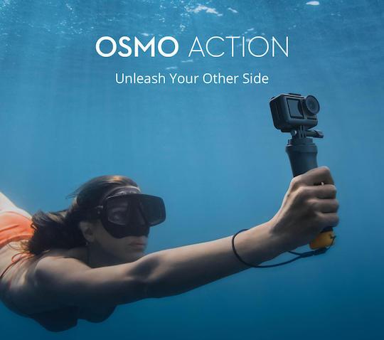 DJI Osmo action camera officially announced