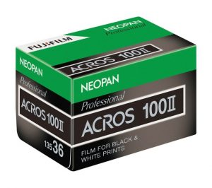 Fuji is bringing back the Neopan 100 Acros black and white film