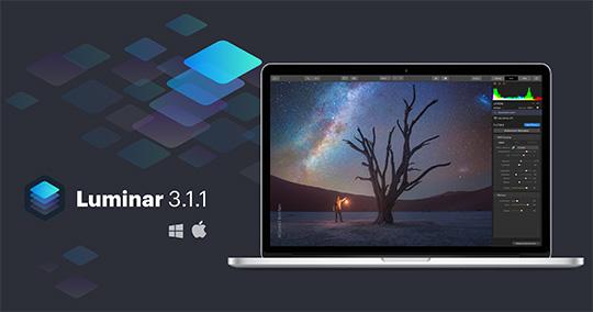 Skylum Luminar 3.1.1 released