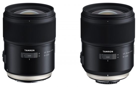 Tamron SP 35mm f/1.4 Di USD full-frame lens for SLR cameras is now released