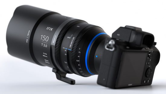 Irix Cine 150mm T3.0 Macro 1:1 lens price and availability announced