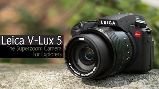 Leica V-Lux 5 camera officially announced