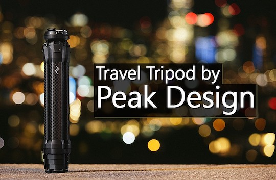 The Peak Design Travel Tripod, that raised over $12 million on Kickstarter, is now available for preorder