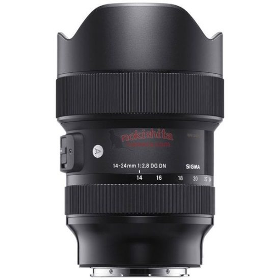 Leaked: Sigma 14-24mm f/2.8, 35mm f/1.2,  45mm f/2.8 DG DN lenses for Leica L-mount and Sony E-mount