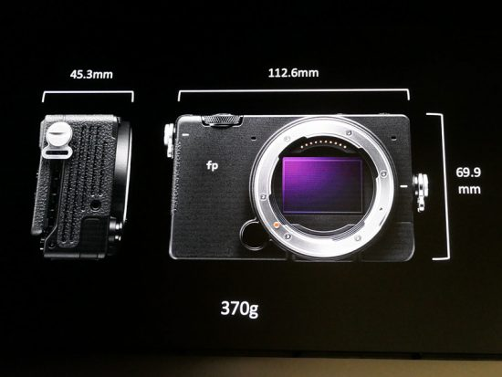 Sigma fp camera pricing confirmed