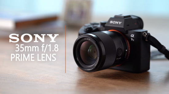 Sony FE 35mm f/1.8 lens officially announced (SEL35F18F)
