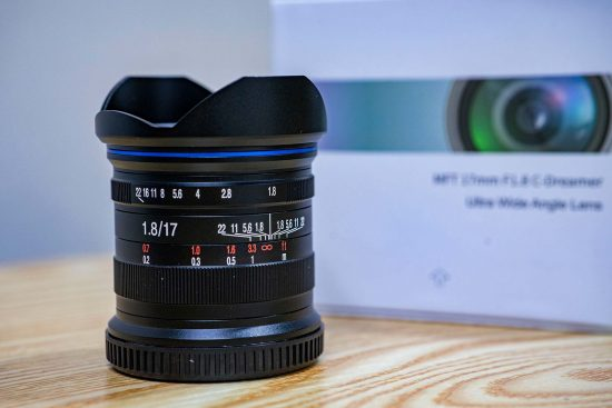 Venus Optics to announce a new Laowa 17mm f/1.8 MFT lens