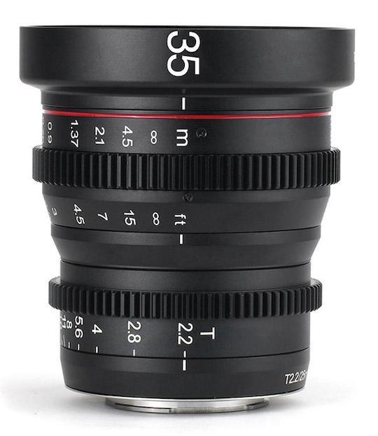 Meike has a new MK-35mm T2.2 MFT cine lens