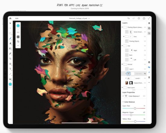 Adobe to release Photoshop CC for the iPad by the end of 2019