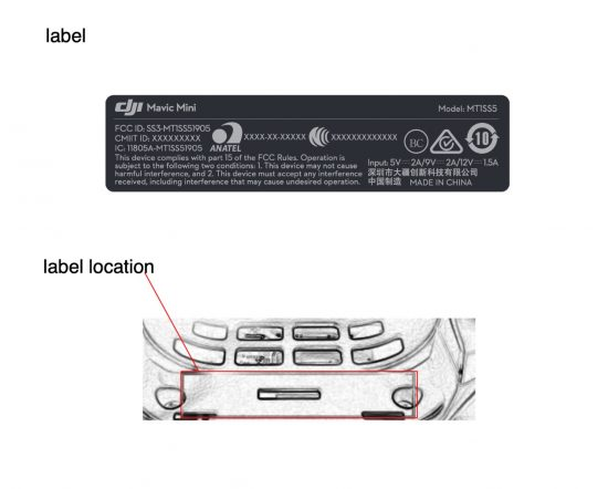 The upcoming DJI Mavic Mini drone registered with the FCC