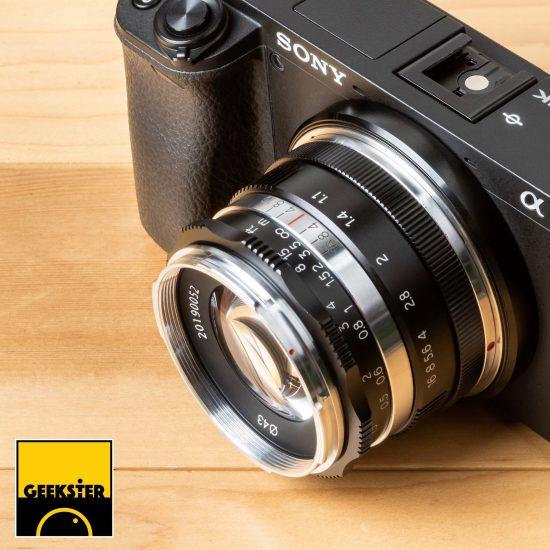 New: Geekster 35mm f/1.1 mirrorless lens
