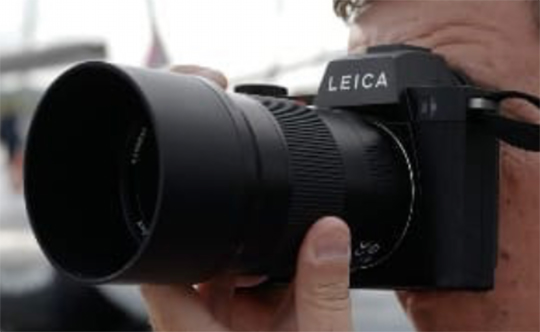 Leica SL2 camera leaked on Instagram by Leica France