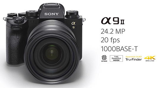 Surprise: Sony a9 II camera announced