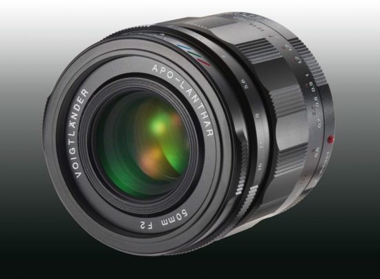 New: Voigtlander 50mm f/2.0 APO-LANTHAR mirrorless lens for Sony E-Mount