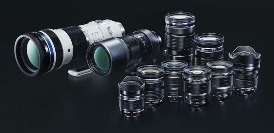 Updated Olympus M.Zuiko Digital lens roadmap released