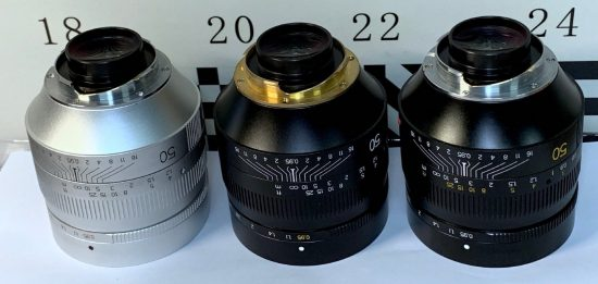First pictures of the upcoming TTartisan 50mm f/0.95 lens for Leica M-mount (Chinese Noctilux)