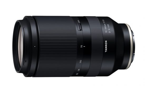 Tamron 70-180mm f/2.8 Di III VXD lens (model A056) leaked online
