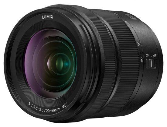 Panasonic Lumix S 20-60mm f/3.5-5.6 lens leaked online